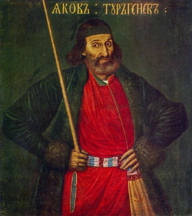 Яков Фёдорович Тургенев. Неизвестный художник.
