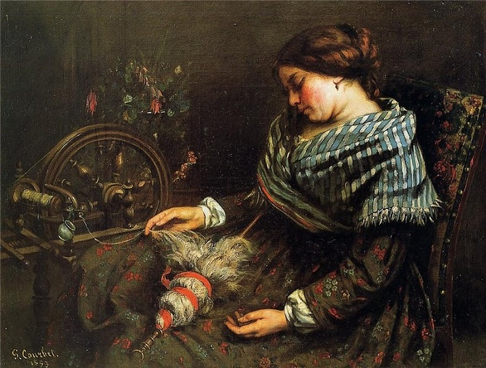 Автор: Courbet Gustave.