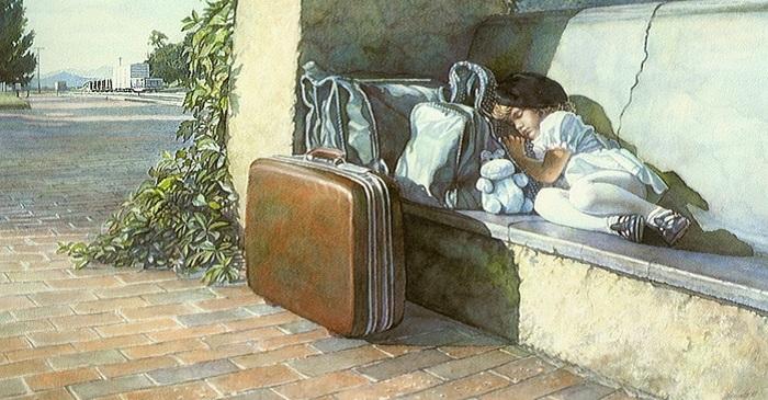 Эмоциональный реализм акварелей Стива Хенкса.