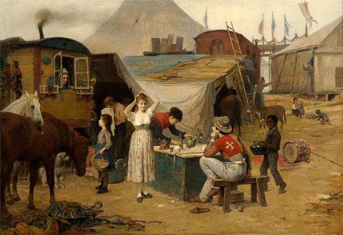 Автор: Хьюго Охмихен (1843-1932).