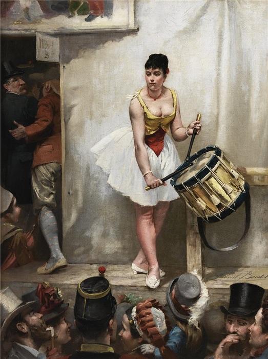 Ла Фет де Монруж. Автор: Габриэль Буте (1848-1900).