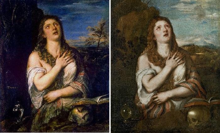 «Кающаяся Мария Магдалина». Автор: Тициан Вечеллио.