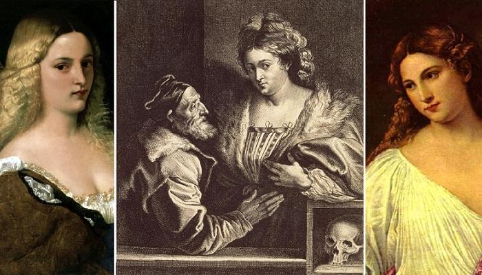 Правда и вымысел о музах, любовницах и женах Тициана Вечеллио.