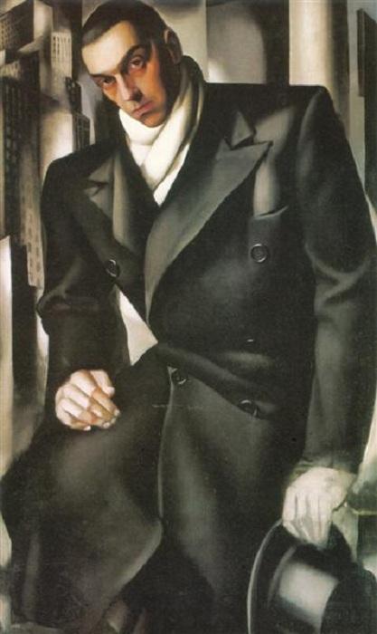 Неоконченный мужской портрет. Автор: Тамара де Лемпицка.