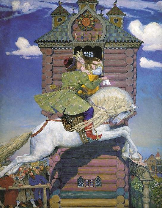 Сивка-бурка. (1919-1926 г.г.) Автор: Виктор Васнецов.