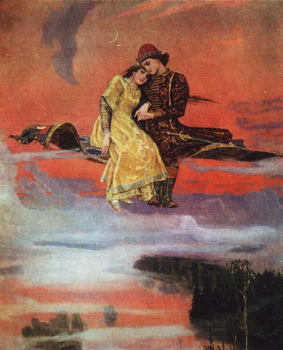 Ковер-самолет. (1919-1926 г.г.) Автор: Виктор Васнецов.
