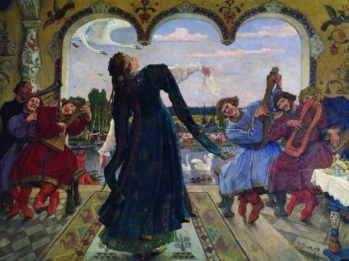 Царевна-лягушка. (1901-1918 г.г.) Автор: Виктор Васнецов.