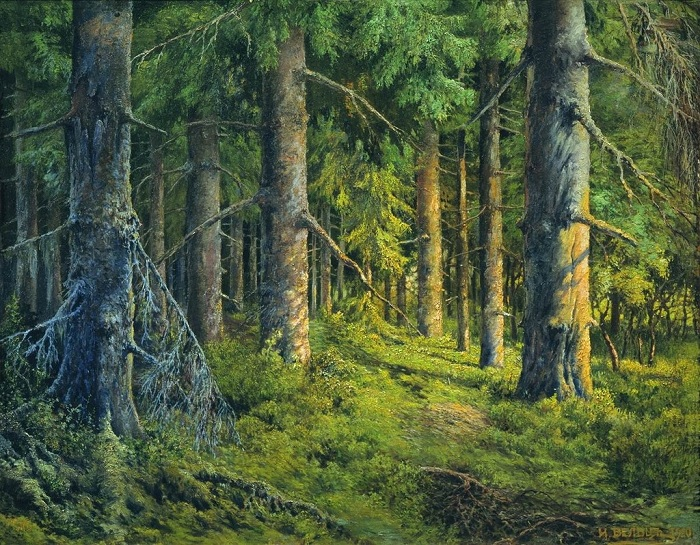 «Сосновый лес». Автор: Иван Вельц.