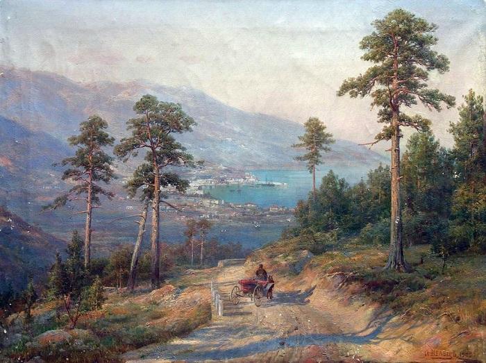 «Вид Ялты». Автор: Иван Вельц.