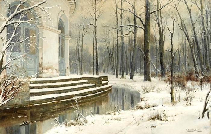 «Первый снег». Автор: Иван Вельц.