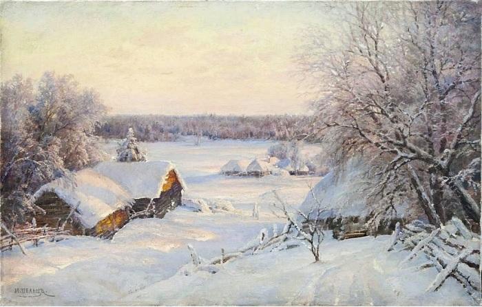 Потрясающе реалистичные пейзажи художника ХIХ века Ивана Вельца.