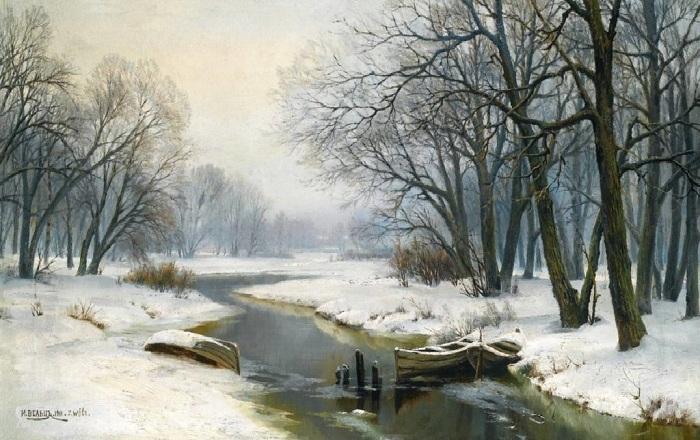 «Зимний пейзаж». Автор: Иван Вельц.