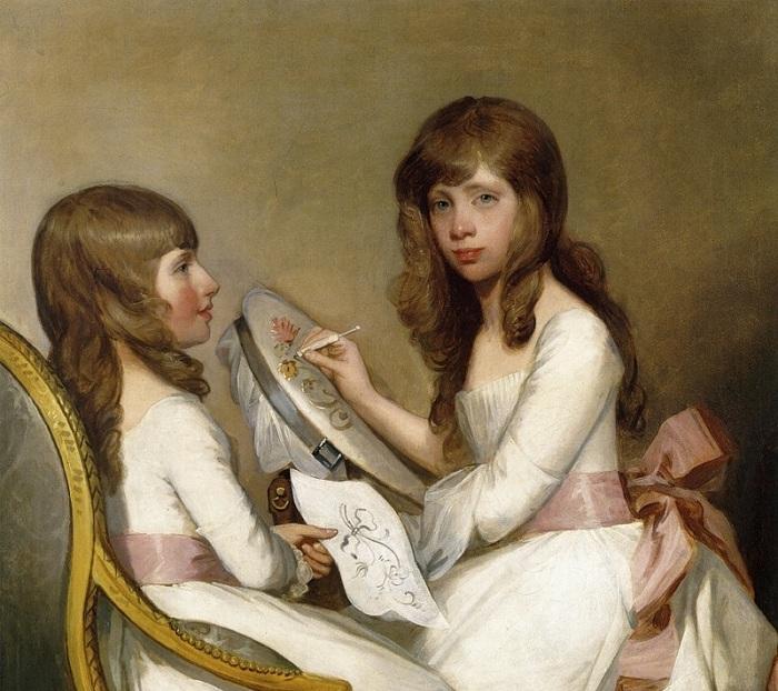 Анна Доротея Фостер и Шарлотта Анна Дик. Автор: Г. Стюарт.
