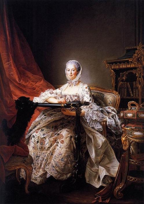 Мадам Помпадур за вышиванием. Автор: Francois-Hubert Drouais.