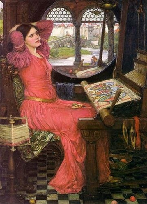 Леди Шалот. Автор: John William Waterhouse.