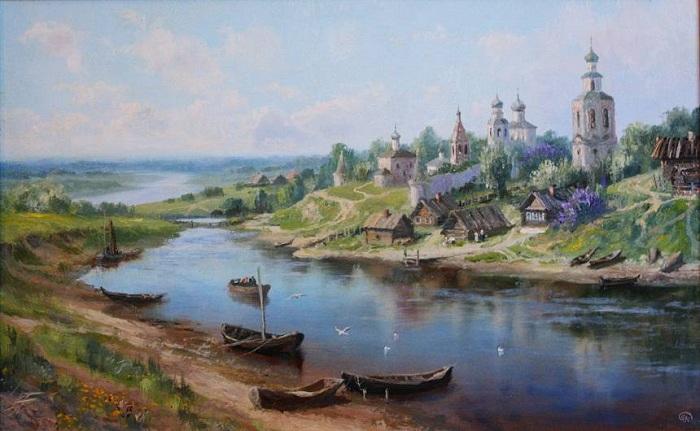 «Времена года. Май. Автор: Владимир Жданов.
