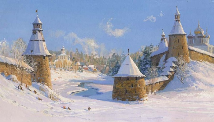«Времена года. Декабрь». Автор: Владимир Жданов.