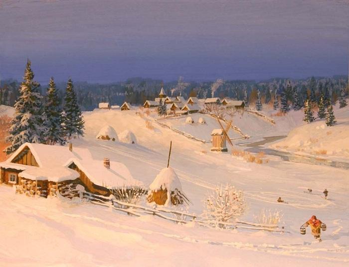 «Времена года. Зима». Автор: Владимир Жданов.