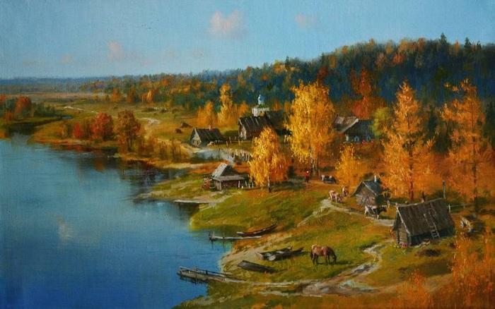 «Времена года. Осень». Автор: Владимир Жданов.