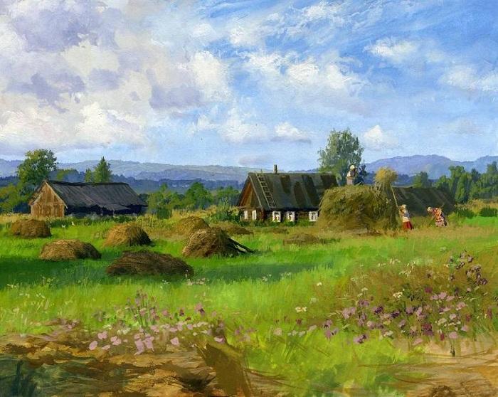 «Времена года. Лето». Автор: Владимир Жданов.