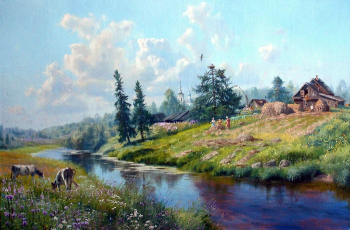 «Времена года. Июнь». Автор: Владимир Жданов.