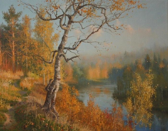 «Времена года. Ноябрь». Автор: Владимир Жданов.
