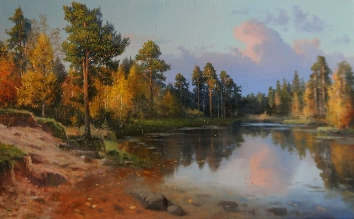 «Времена года. Октябрь». Автор: Владимир Жданов.