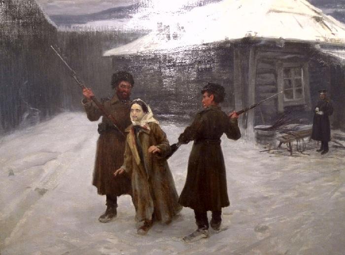 «Сигида».«Трагедия на Карийской каторге». Автор: Николай Касаткин.