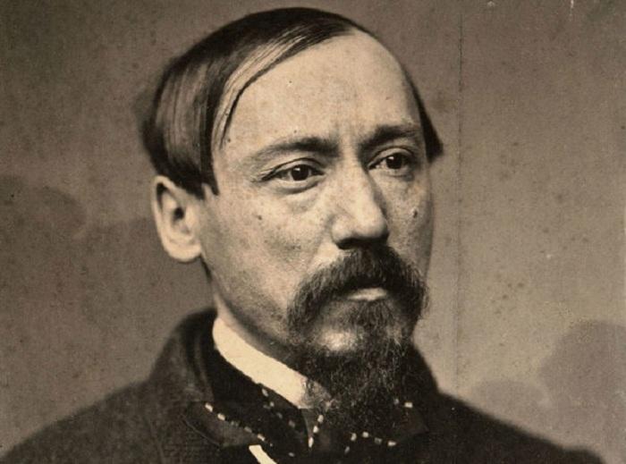 Николай Алексеевич Некрасов в молодые годы.