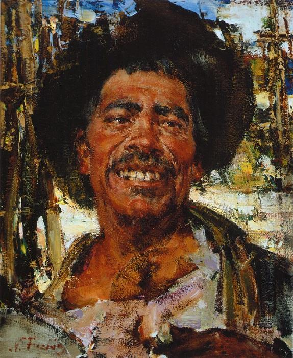 «Хуан. Пеон» (1936). Автор: Николай Фешин.