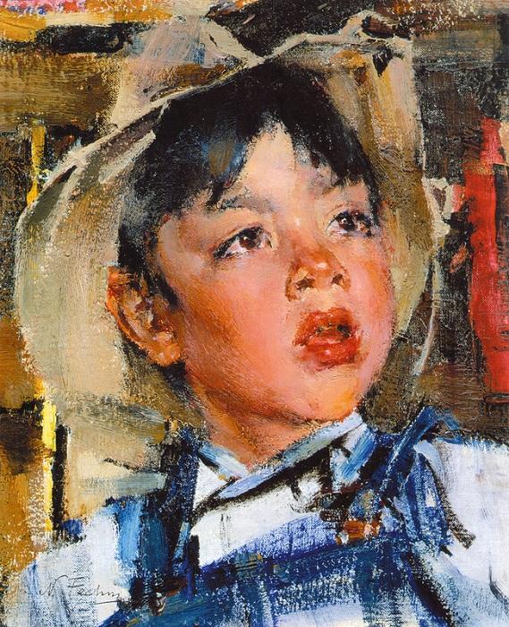 «Мальчик». (1927—1933). Автор: Николай Фешин.