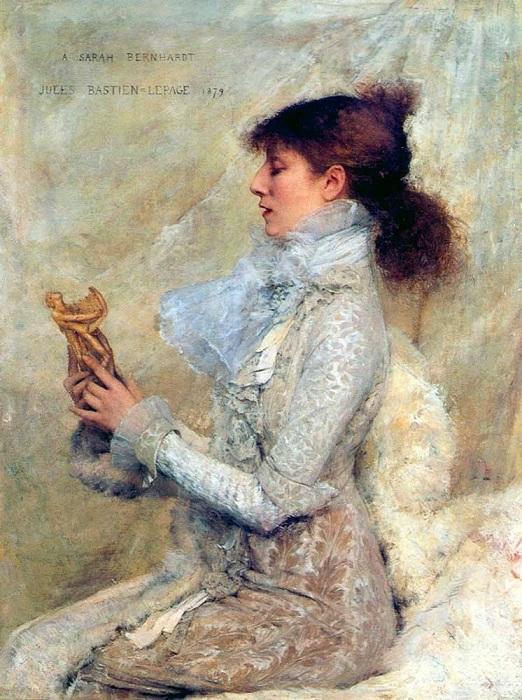 Сара Бернар.(1879). Автор: Jules Bastien-Lepage.