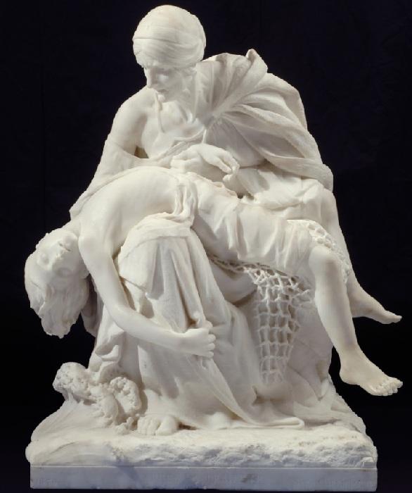 Пьета. Скульптор: Сара Бернар.