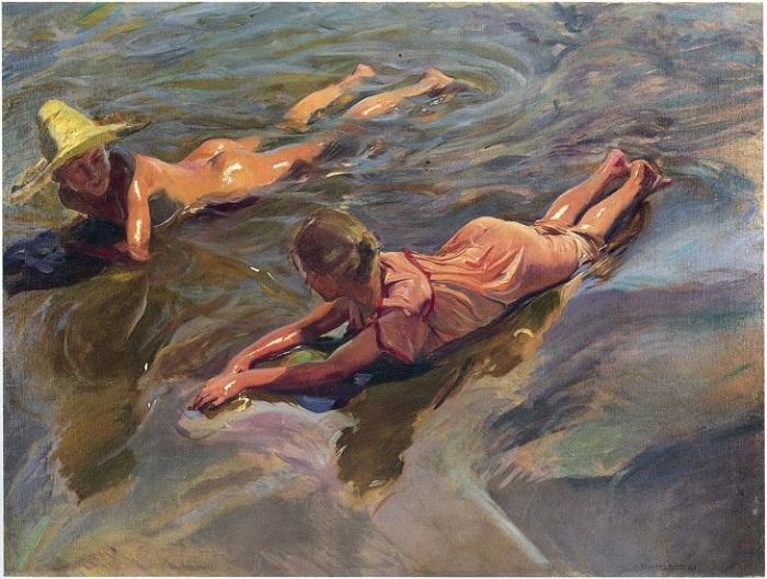 «Морская идиллия». Автор: Хоакин Соролья-и-Бастида.