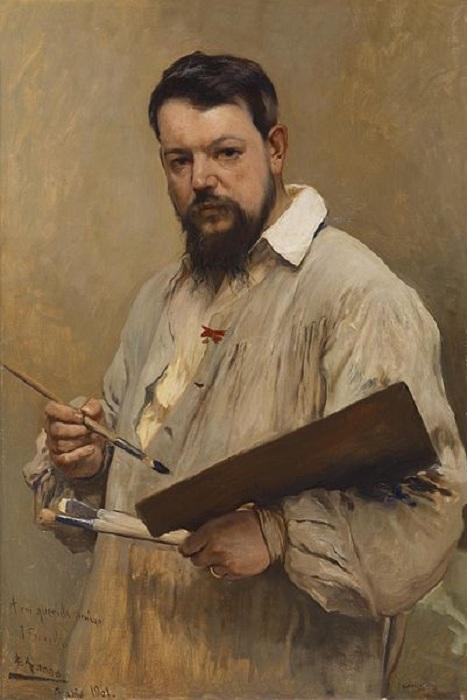 Портрет Хоакина Сорольи. (1901 год). Автор: Хосе Хименес Аранда.