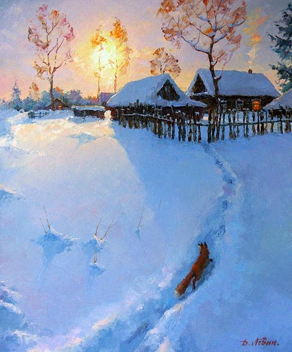 «Знакомой тропой». Автор: Дмитрий Левин.
