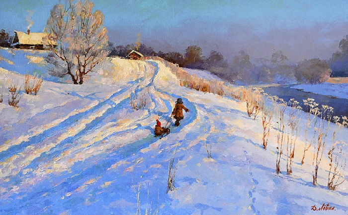 «Пришла красавица зима». Автор: Дмитрий Левин.