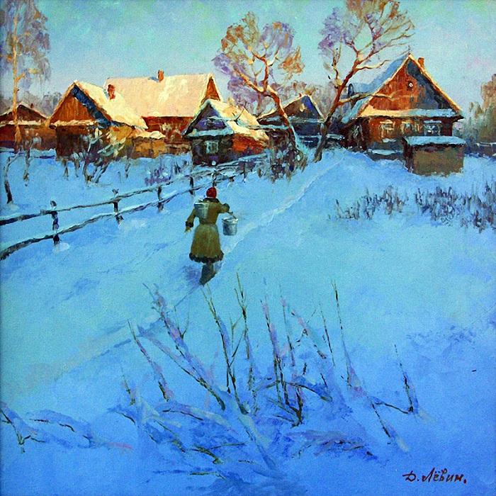 «Деревенские будни». Автор: Дмитрий Левин.