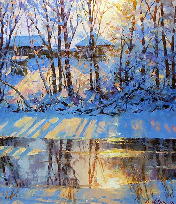 «Мороз и солнце...». Автор: Дмитрий Левин.