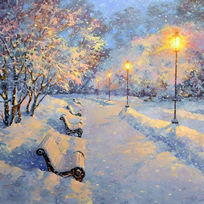 «Новогодняя сказка». Автор: Дмитрий Левин.