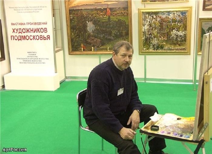 Дмитрий Левин - известный русский живописец-пейзажист.