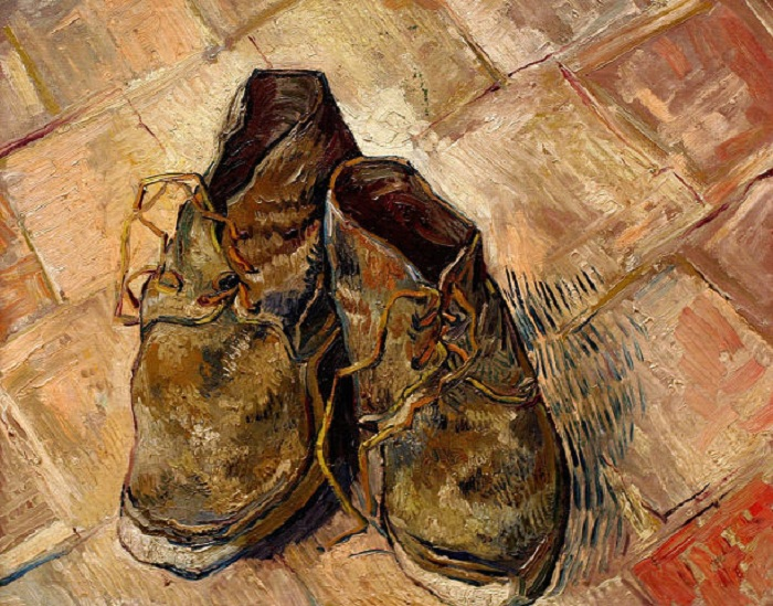 «Обувь». Музей Метрополитен. Автор: Винсент Ван Гог.