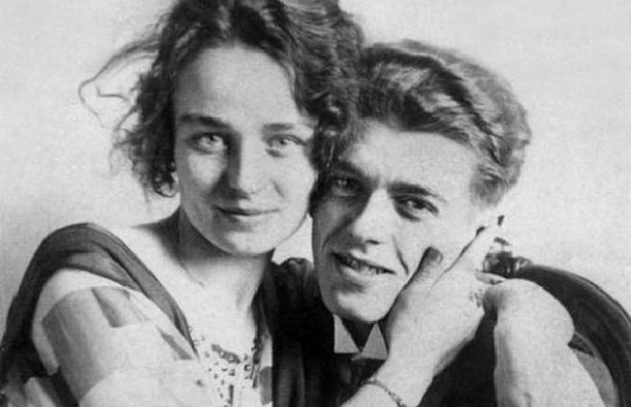 Жоржетта Бергер и Рене Магритт.