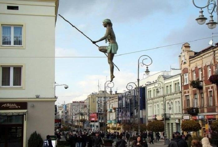«Балансирующие скульптуры» от Ежи Кедзера.