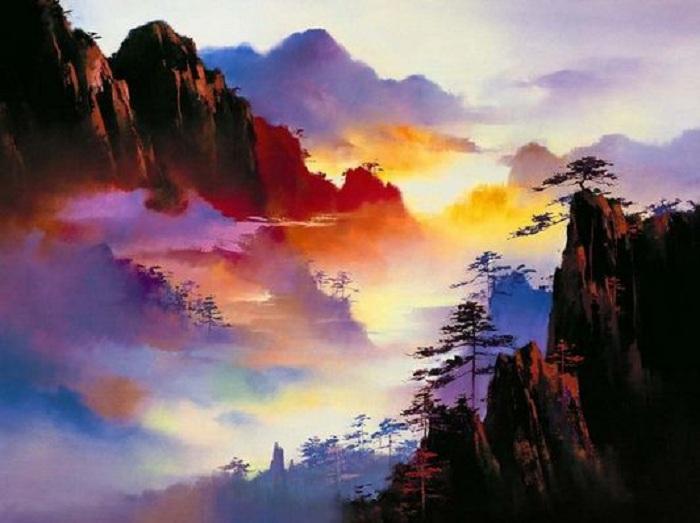 Неоимпрессионизм от Кена Хонга Леунга.