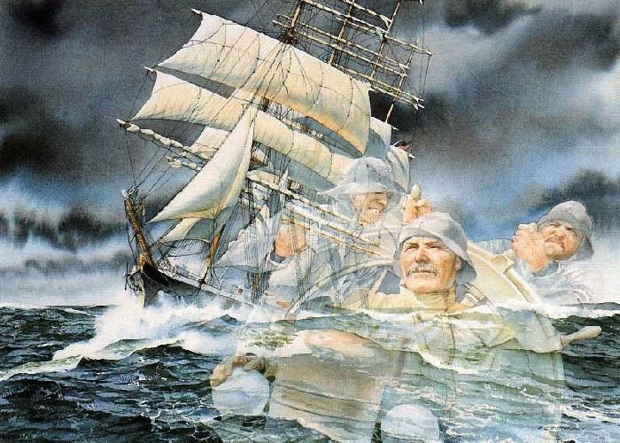 Морской пейзаж Charlesа L.Petersonа. Из «Коллекции воспоминаний».