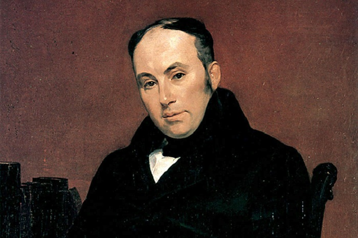 Портрет Василия Жуковского. Автор: Карл Брюллов.