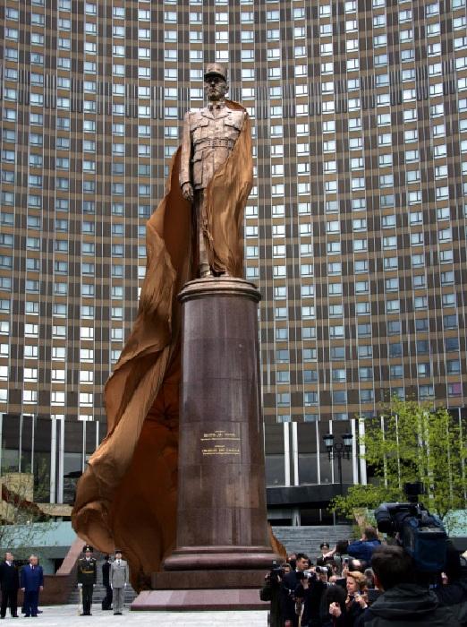 «Памятник Жандарму» (или «Луи»). Москва.