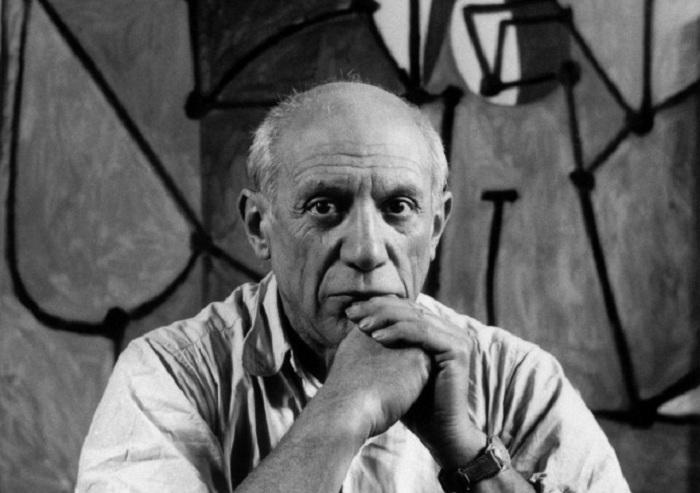 Пабло Пикассо. Фото 1952 года.