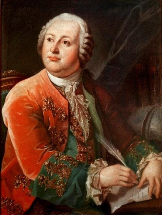 Л.С.Миропольский. Портрет М.В. Ломоносова. 1787 г.